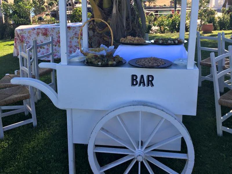 Carrito Bar Bodas Beltran Catering