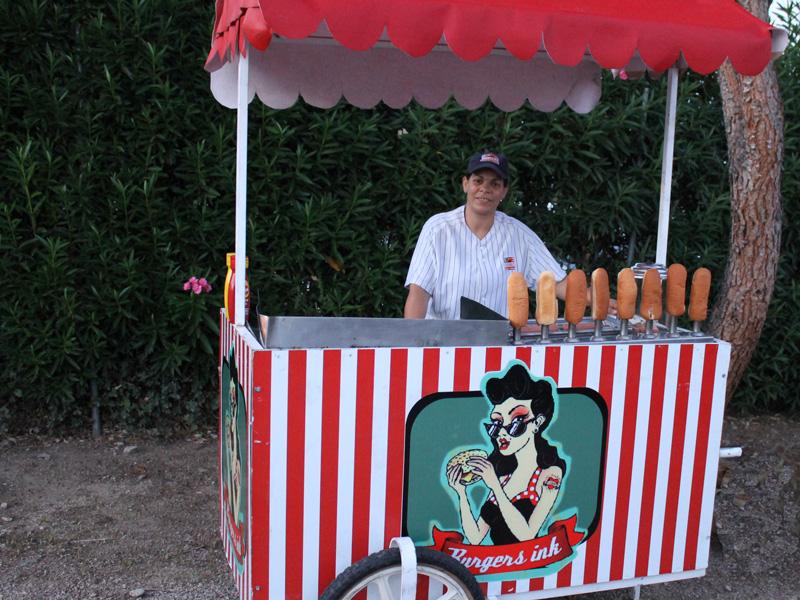 Carrito Burger Bodas Beltran Catering