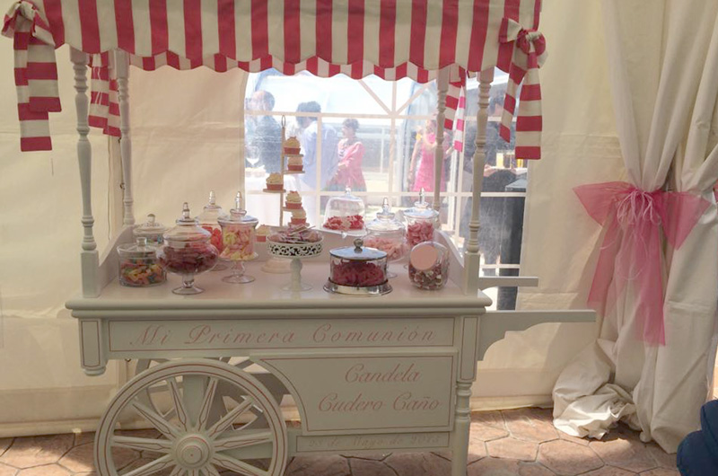 Candybar Comuniones Beltran Catering