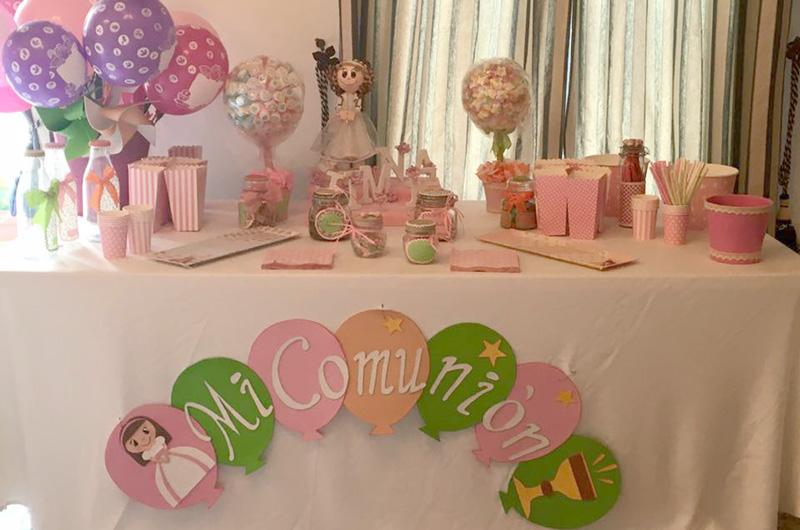 Candybar Comuniones Beltran Catering