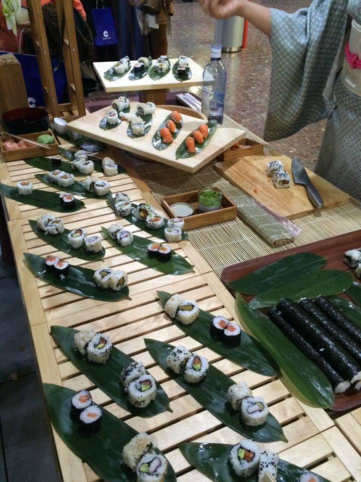 Isla Temática de Sushi Beltran Catering