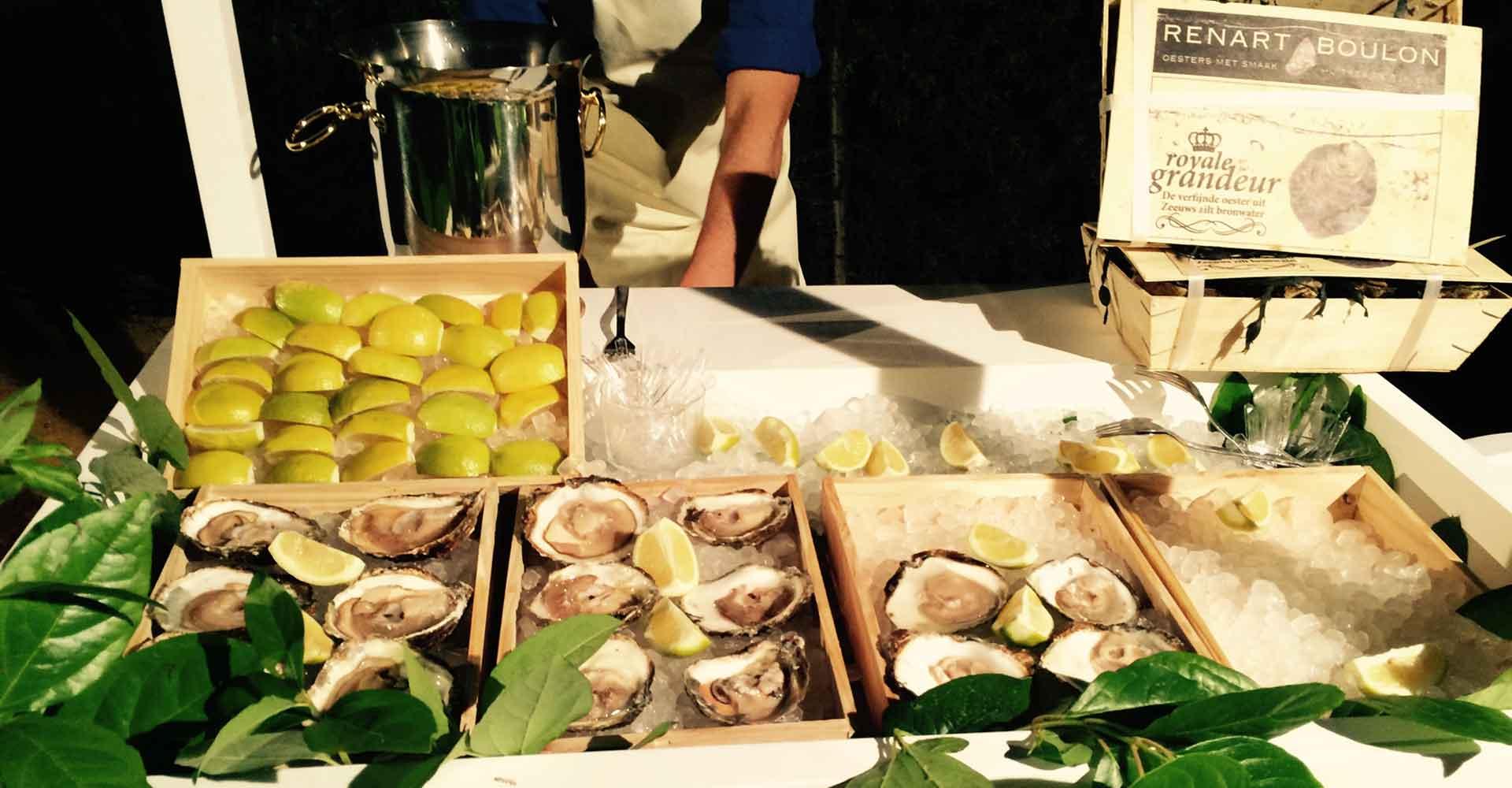 Isla Temática de Mariscada Beltran Catering