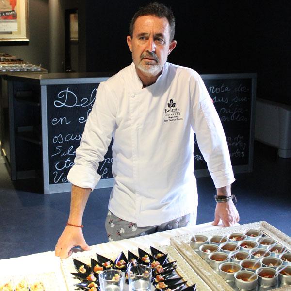 chef cocina beltran catering
