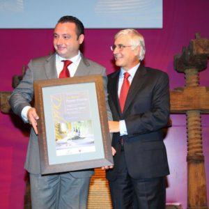 Primer premio de gastronomía tradicional otorgado por la Consejería de Turismo de la Junta de Comunidades al mejor restaurante