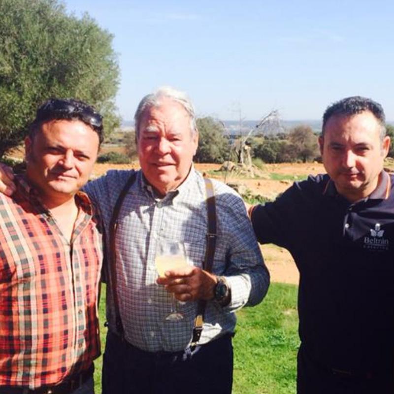 famosos con Alfonso beltran catering
