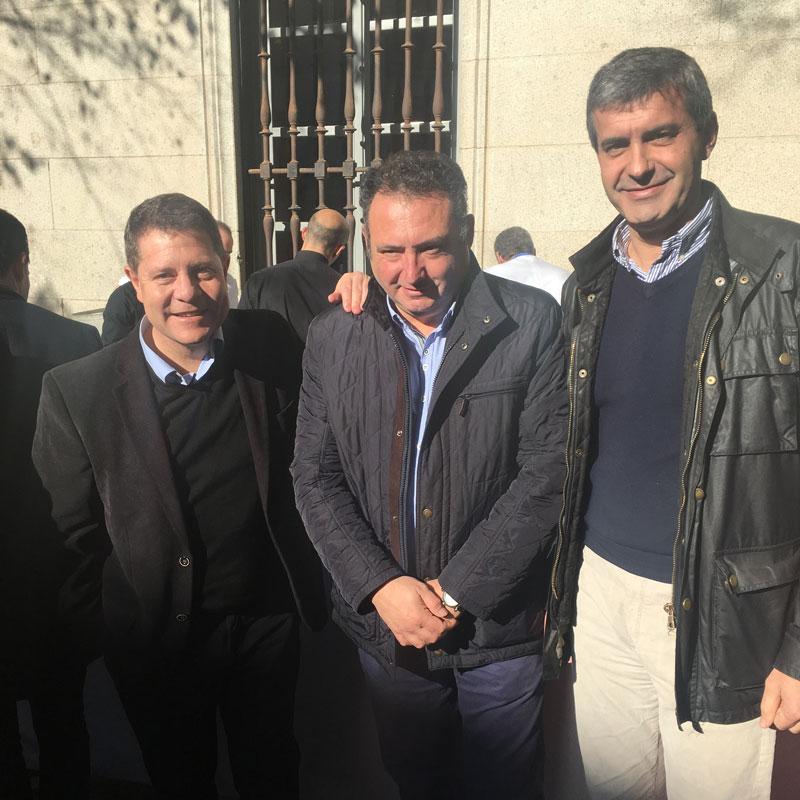 Emilio garcia Page con Alfonso Beltran