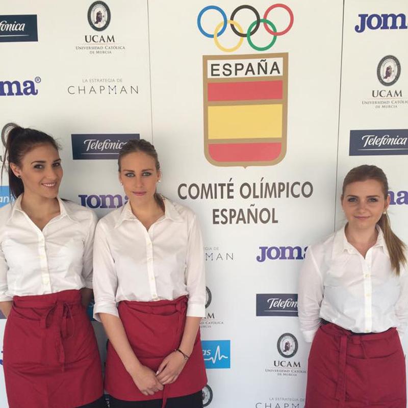 Gala del comité olímpico español Beltran Catering