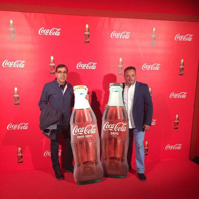 Alfonso beltran catering con Coca Cola