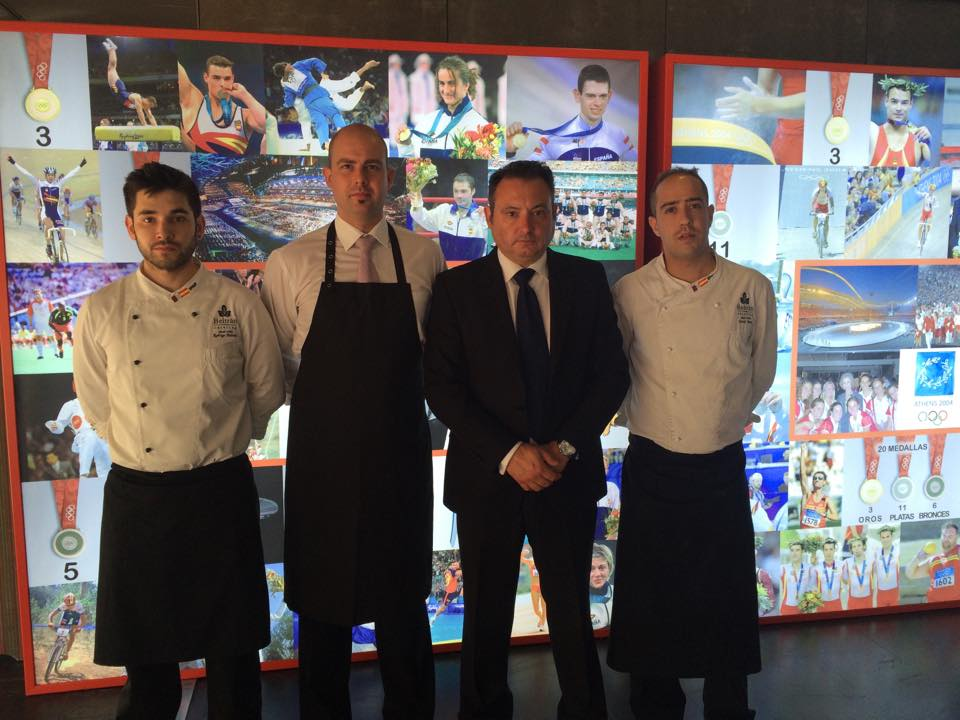 Gala comité olímpico español Beltran Catering