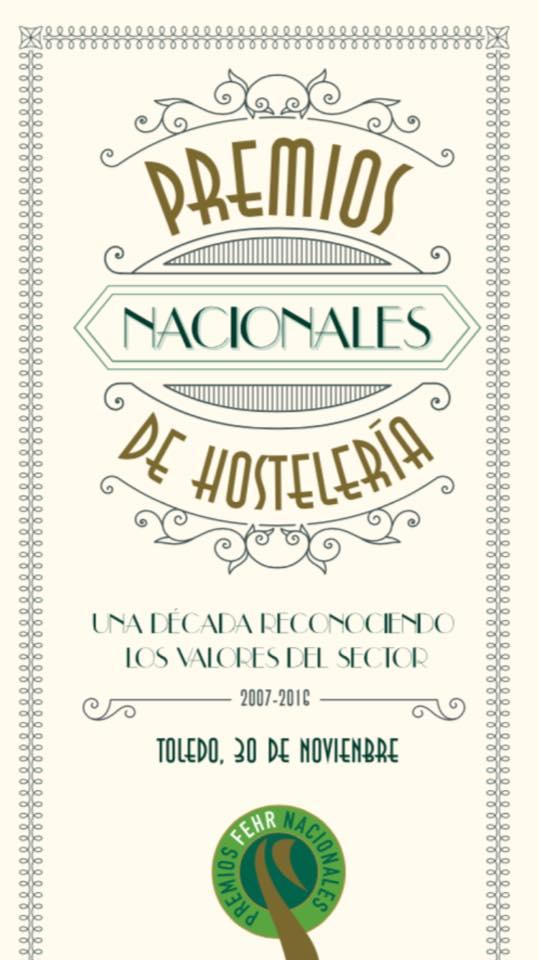 Gala premios nacionales de hostelería Beltran Catering